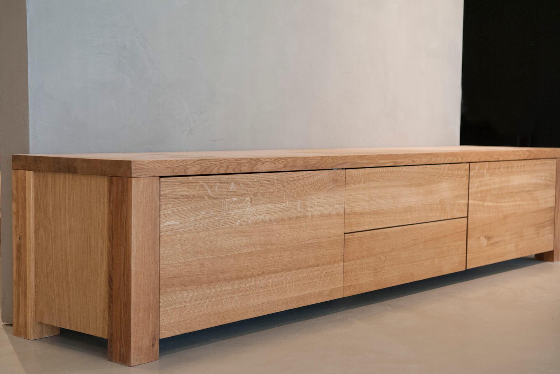 Eiken tv meubel sentenie ontwerp for Eiken tv meubel